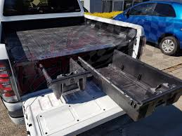 100 Truck Bed Drawers VW AMAROK DUAL CAB 2010on DECKED TRUCK BED STORAGE SYSTEM DRAWS