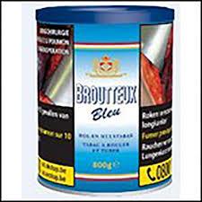 pot de tabac belgique tabacs broutteux bleu pot 200gr