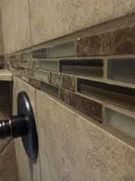 master shower up emser toledo noce tile with glass accent