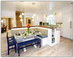 kitchen bench ideas built in kitchen island with seating original