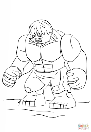 Lego Hulk Coloring Pages Printable And Book To Print For Free Find More Online Kids Adults Of