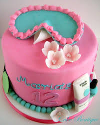 Best 25 Spa Birthday Cake Ideas On Pinterest