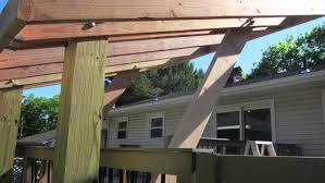 Diy Wood Patio Cover Kits by Patio Grill Cover Youtube