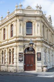 Famous For Limestone The White Buildings In Oamaru New Zealand Are Nicknamed Whitestone