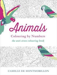 Animals Colouring By Numbers Paperback