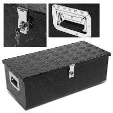 100 Black Truck Box ModifyStreet 30x13x10 Aluminum Bed Camper Storage