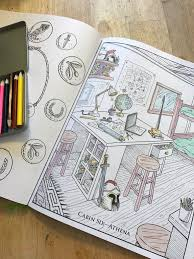 The Percy Jackson Coloring Book Is Great For Fans Of All Ages I Had To Jump In And Color A Few Pages Before My Kids Got Their Hands On This One