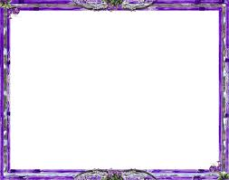 Purple Frame Transparent Background PNG