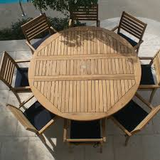 6 Person Patio Set Canada by Round Outdoor Dining Table For With Cool Style In Room Inch