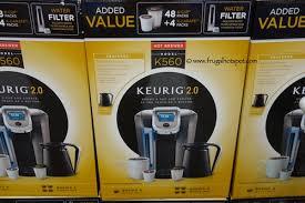 Costco Sale Keurig 20 K Cup Coffee Brewer K560 12499