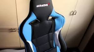 Ak Rocker Gaming Chair Replacement Cover by Akracing Prox Gaming Chair Ak Prox Bl Unbox Assemble Review