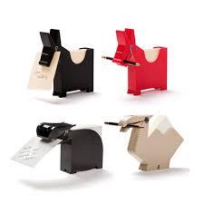 objet de bureau bloc notes animaux pour votre bureau akenchi objets design