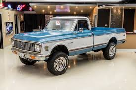1972 Chevrolet K-20 | Classic Cars For Sale Michigan: Muscle & Old ... 1972 Chevy K20 4x4 34 Ton C10 C20 Gmc Pickup Fuel Injected The Duke Is A 72 C50 Transformed Into One Bad Work Chevrolet Blazer K5 Is Vintage Truck You Need To Buy Right 4x4 Trucks Chevy Dually C30 Tow Hog Ls1tech Camaro And Febird 3 4 Big Block C10 Classic Cars For Sale Michigan Muscle Old Lifted Ford Matt S Cool Things Pinterest Types Of 1971 Custom 10 Orange 350 Motor Custom Camper Edition Pick Up For Youtube 1970 Cst Stunning Restoration Walk Around Start Scotts Hotrods 631987 Gmc Chassis Sctshotrods