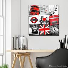 100 Pop Art Home Decor 2019 London Big Ben Clock Pictures Square Shape London Street Landscape Posters And Prints No Frame From Framedpainting 2736