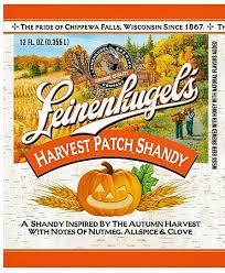 Leinenkugel Pumpkin Spice Beer by Leinenkugel U0027s Harvest Patch Shandy Beer Review