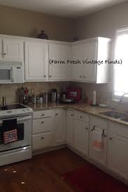 Thermofoil Cabinet Doors Vs Wood by Painting Thermofoil Cabinets The Reveal Farm Fresh Vintage Finds
