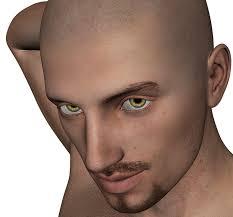 Konten Dewasa SafeSearch Pria Bart Kepala Botak Wajah Manusia
