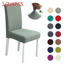 US $2.18 33% OFF 1/2/4Pcs Polar Fleece Thicken Chair Cover Spandex Stretch  Elastic Slipcovers Chair Covers White For Dining Room Kitchen Banquet-in ... Blancho Bedding 2 Piece Sets Of Elastic Chair Slipcovers Stretch Sofa Covers Cover Couch For 1 3 Seater Slipover Top Quality New Winter 1234 Thickened Sofa Cover Case Living Room Details About Easy Fit Lounge Protector 124x High Back Ding Knit Compare Idyllic Plant Print 4 Rowe Easton Casual And A Half With Slipcover Belfort Parson Life Is Party Best Sale 6847 1246pcs White Loviver 124pcs Removable 1246pcs Spandex Chairs Detachable Solid Color For Banquet Hotel Kitchen Wedding