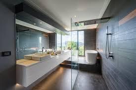 Bathrooms Designs 18 Sleek Modern Bathroom Designs You Ll Fall In With