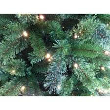 Fiber Optic Christmas Trees Canada by Artificial Christmas Tree Pre Lit 7 5 U0027 Cashmere Color Change