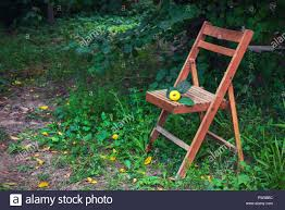 Old Wooden Folding Chair In The Country Garden Stock Photo ... Vintage Wooden Folding Chair Old Chairs Stools Amp Benches Ai Bath Pregnant Women Toilet Fniture Designhouse French European Cafe Patio Ding Best Way To Cleanpolish Wood In Rope From Maruni Mokko2 For Sale At 1stdibs Chairs Leisure Hollow Rocking Bamboo Orient Express Woven Paris Gray Rattan Set Of 2 Adjustable Armrest Mulfunction Wood Folding Chair Computer Happy Goods Industry Wind Iron