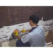 high alumina ceramic particle adhesive bonding metal ceramic tile