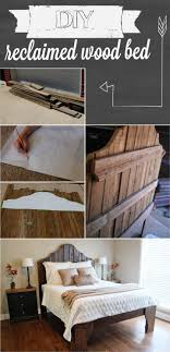 25 Easy DIY Bed Frame Projects To Upgrade Your Bedroom - Homelovr Reclaimed Wood Bed Frame King Ktactical Decoration Bedroom Magnificent Barnwood Frames Alayna Industrial Platform With Drawers Robert Redfords Sundance Catalog Weathered Grey Minimalist Also Ideas Marvelous Ding Table And Chairs Wallpaper Full Hd Fniture Best 25 Wood Beds Ideas On Pinterest Tags Fabulous Varnished Which Slicked Up Hidef Solid Beds And Headboards Custmadecom