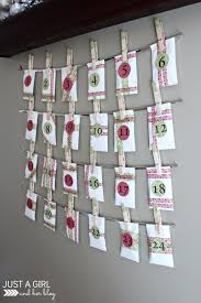 Our DIY Advent Calendar {with FREE Printables!} - Just A Girl And ... Found This Advent Calendar In Pottery Barn Kids Catalog Too Skinny Santa Pottery Barn Gilt Advent Knock Off Holiday Calendars 2015 Immrfabulouscom 21 Best Is The Images On Pinterest The Feminist Housewife Inspired Calender 25 Unique Fabric Calendar Ideas Baby Fniture Bedding Gifts Registry Reindeer Christmas Quilted Thanksgiving Lynn Spin Stocking Ladder Rogue Engineer