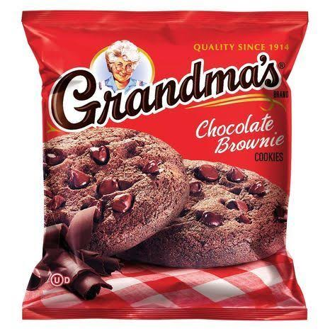 Grandma's Cookies , Chocolate Brownie - 2.875 oz