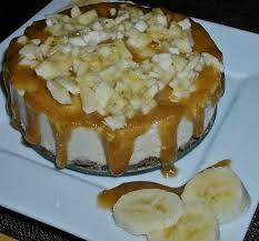 Getting Raw Raw Bananas Foster Cheezecake