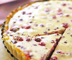 dessert gourmand tarte au fromage blanc et aux fruits rouges