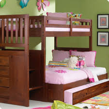 discovery world furniture merlot twin over full staircase bunk bed