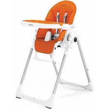 100 Perego High Chairs Peg Prima Pappa Zero3 Arancia Imitation Leather Chair Cradle