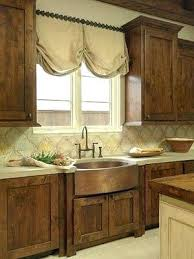 Rustic Chic Kitchen Curtains Beige Curtain Ideas Photos Of For