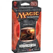 Mtg Red White Deck by Amazon Com Magic The Gathering Mtg 2012 Core Set M12 Intro Pack
