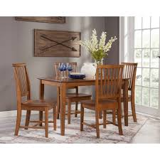 30x48 Dining Table With 4 Mission Chairs - Pecan- 5 Piece Set ... John Thomas Select Ding Mission Side Chair Fniture Barn Almanzo Barnwood Table Tapered Leg Black Base Amish Crafted Oak Room Set 1stopbedrooms Updating Style Chairs The Curators Collection Stickley Six Ellis A Original Sold Of 8 Arts Crafts 1905 Antique Craftsman Plans And With Urban Upholstered Rotmans Marbrisa Available At Jaxco
