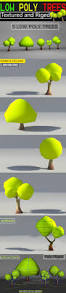 Polytree Christmas Trees Instructions by Low Poly Trees Textured And Riged By Njanimator 3docean