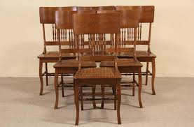 SOLD - Set Of 6 Oak 1900 Antique Dining Chairs, Cane Seats - Harp ... Tiger Oak Fniture Antique 1900 S Tiger Oak Round Pedestal With Ding Chairs French Gothic Set 6 Wood Leather 4 Victorian Pressed Spindle Back Circa Room 1900s For Sale At Pamono Antique Ding Chairs Of Eight Chippendale Style Mahogany 10 Arts Crafts Seats C1900 Glagow Antiques Atlas Edwardian Queen Anne Revival Table 8 Early Sets 001940s Extendable With Ball Claw Feet Idenfication Guide