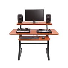 3 Tier Home Studio Desk by Gear4music at Gear4music