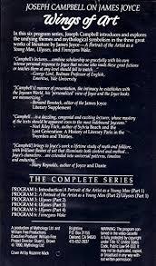 Amazon Joseph Campbell On James Joyce Wings Of Art Movies TV