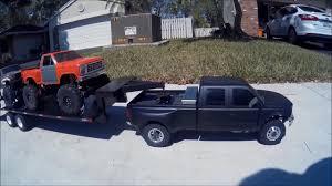 100 Rc Dually Truck Custom SCX10 4 Door Tamiya F350 YouTube
