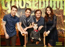 Cast Of Halloweentown 2 by Jack Black Kisses Slappy At U0027goosebumps U0027 Photo Call Photo 3476403