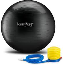 Pilates Ball Chair South Africa by Amazon Com Hemingweigh Static Strength Exercise Stability Ball