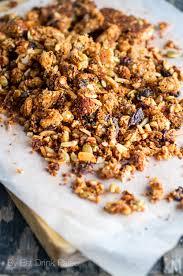 Snacks Before Bed by My Favourite Paleo Muesli Granola Recipe