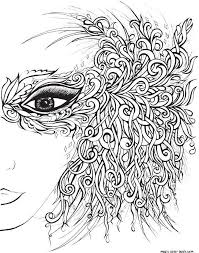 Girl prom dress adult coloring pages online free print