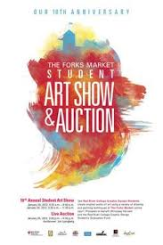 The Forks Market Student Art Show And Auction 2012