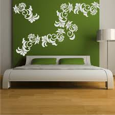 Image Of Wall Decals For Bedroom Green Color