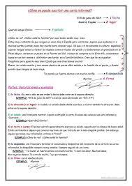 Modelo De Una Carta Familiar Buscar Con Google MODELO CARTA