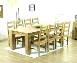 Dining Table With 8 Chairs Room Set And Big Round Gumtree
