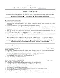 Resume Summary Of Qualifications Examples Project Manager